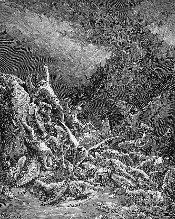 Battle Photograph - Milton: Paradise Lost by Granger