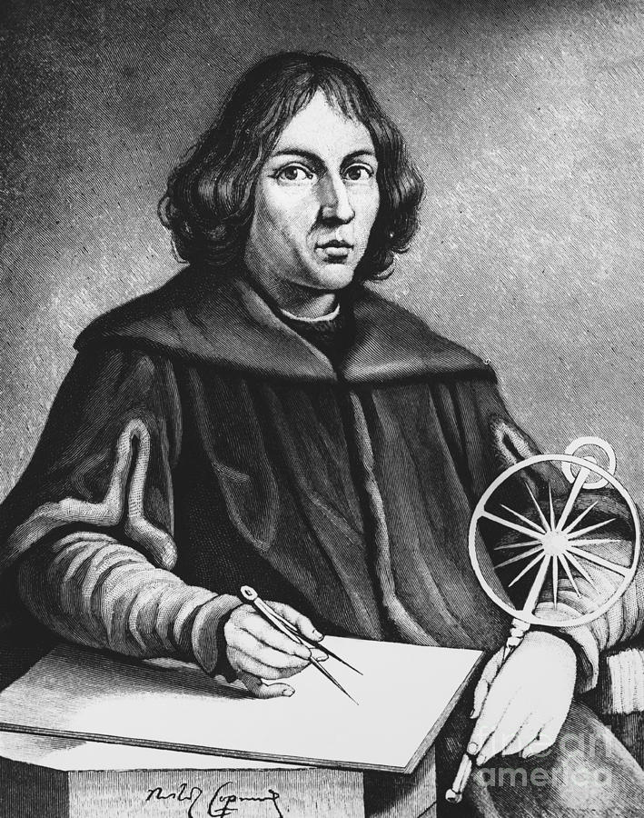 History Photograph - Nicolaus Copernicus, Polish Astronomer by Science Source