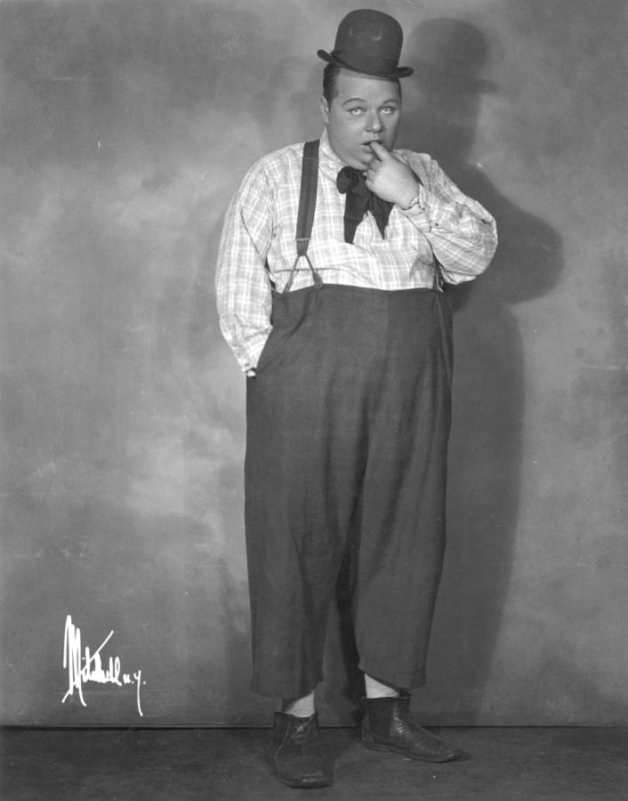 20th Century Photograph - Roscoe Fatty Arbuckle by Granger