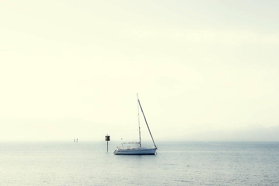Boat Photograph - Sailing Boat by Joana Kruse