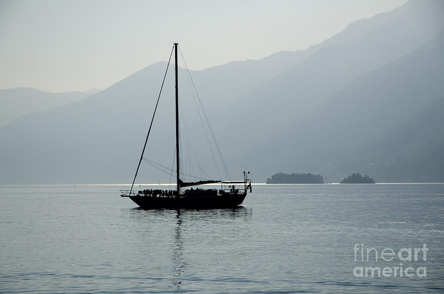 Sailing Boat Photograph - Sailing Boat by Mats Silvan
