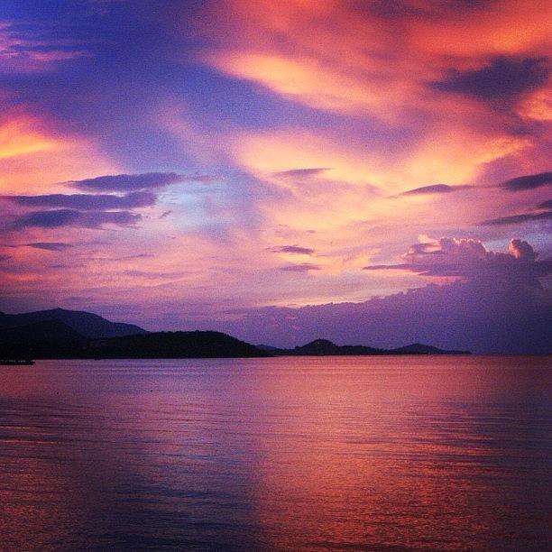 Nature Photograph - Sunset by Luisa Azzolini