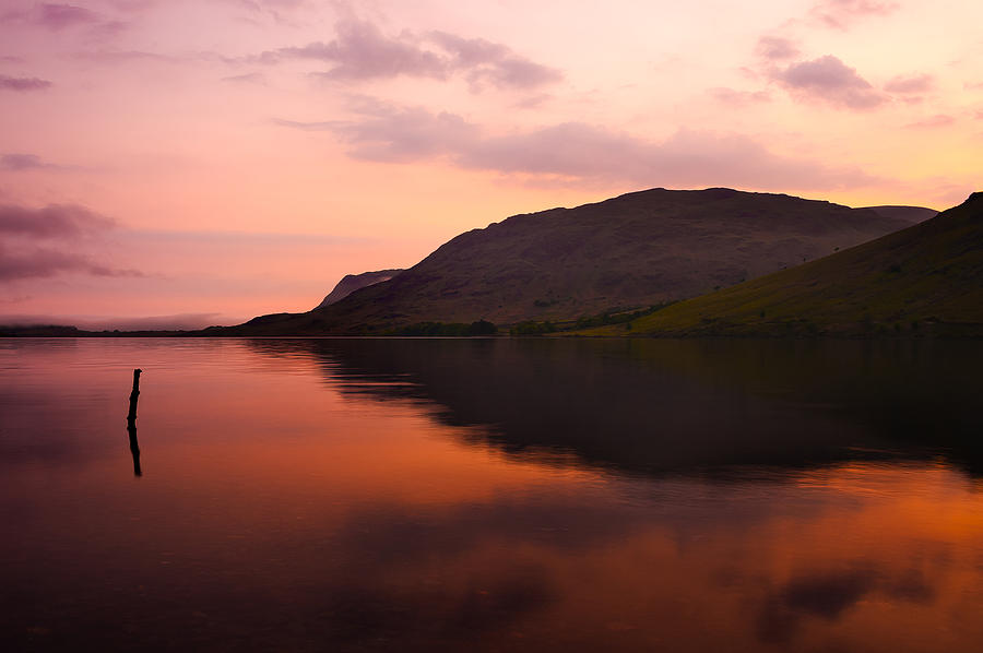 Bay Photograph - Sunset by Svetlana Sewell