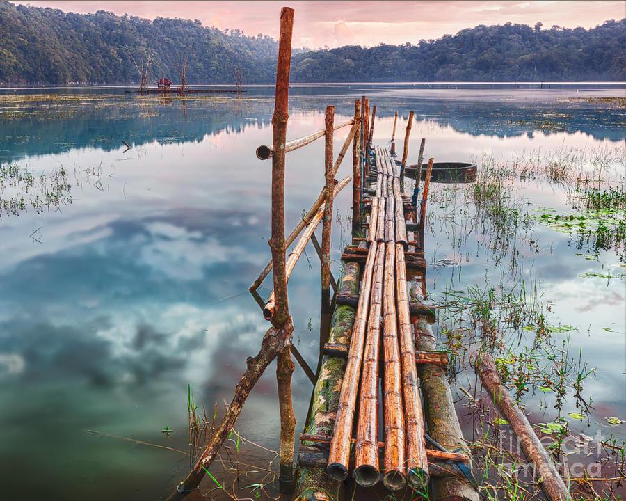 Lake Photograph - Tamblingan Lake by MotHaiBaPhoto Prints