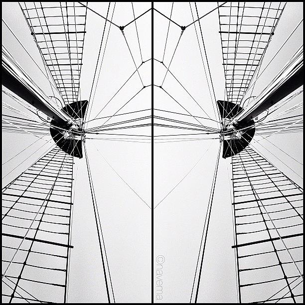 Symmetry Photograph - the Peacemaker: Built In Brazil In by Natasha Marco