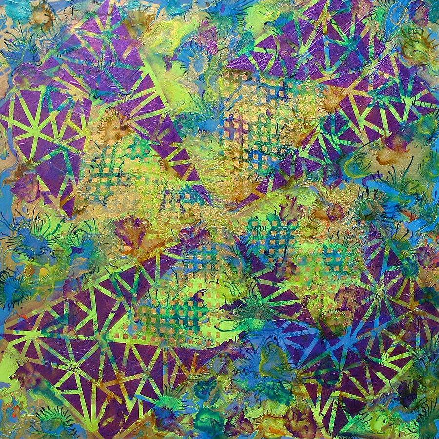 Abstract Painting - Untitled by Austin Zucchini-Fowler
