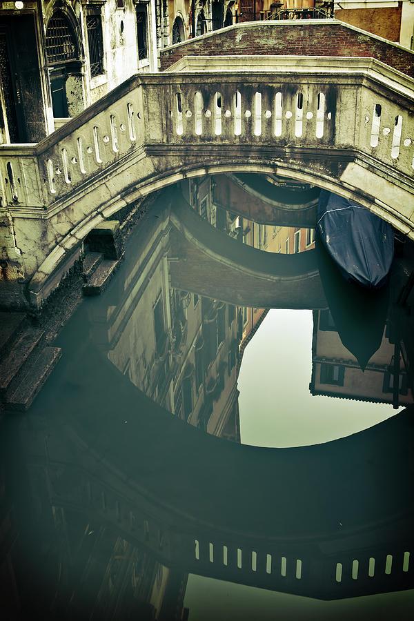 Bridge Photograph - Venezia by Joana Kruse