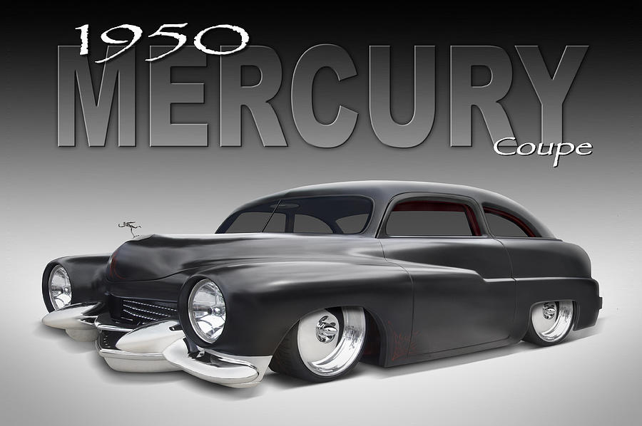 1950 Mercury Coupe Photograph - 50 Mercury Coupe by Mike McGlothlen