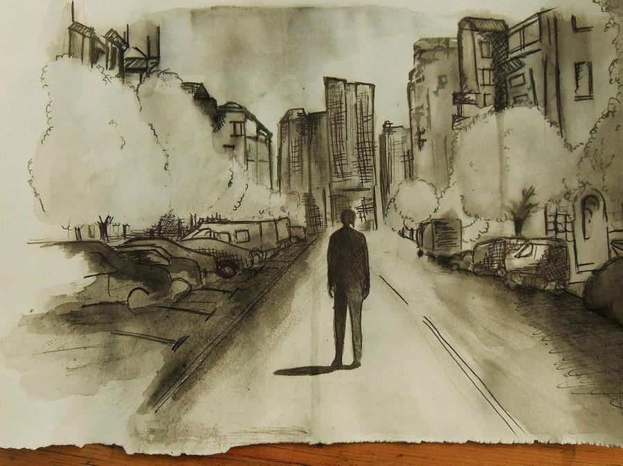500 Days Of Summer Screen Shot Drawing By Ellie Green