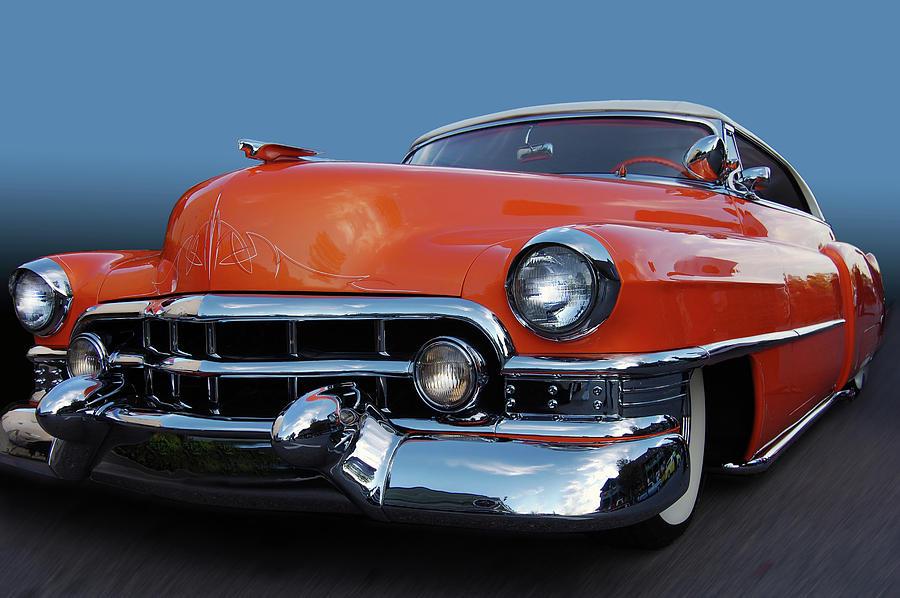 54 Cadillac De Ville Photograph By Bill Dutting