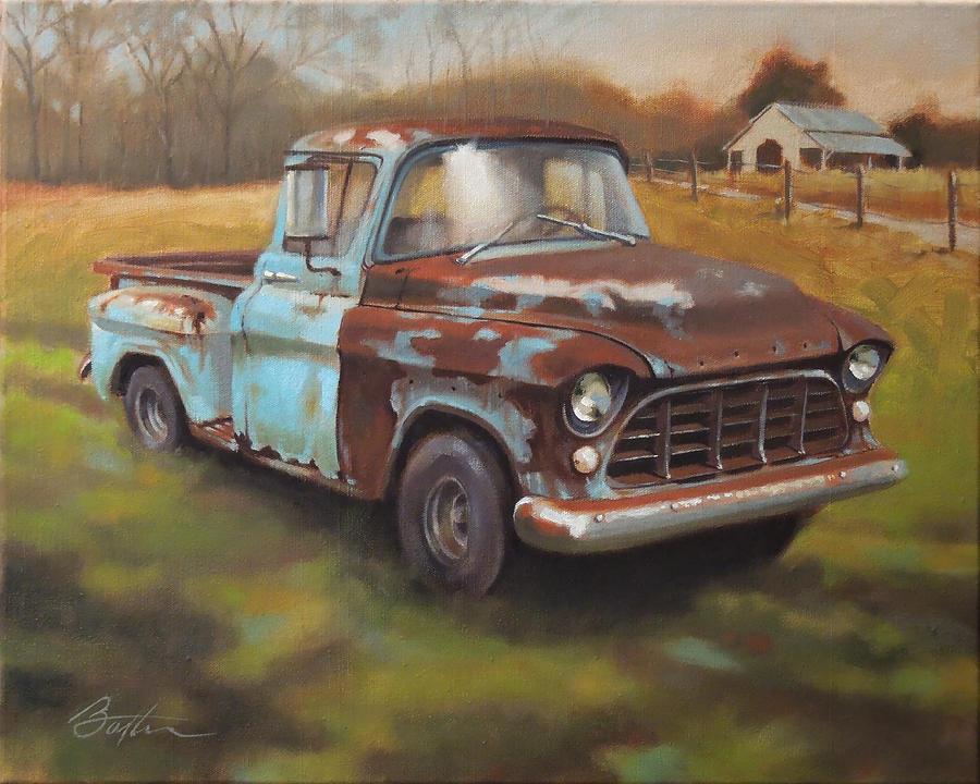 Vintage Truck Paintings | Fine Art America