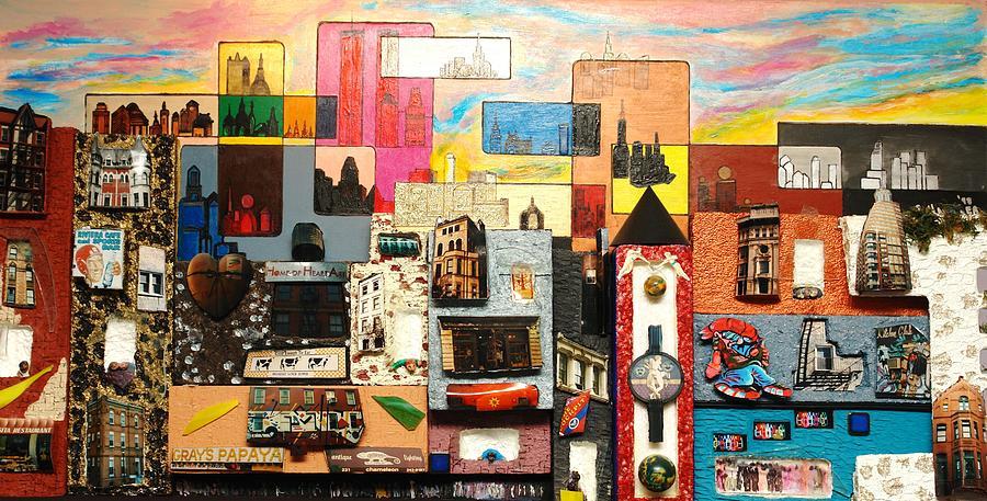 Robert Handler Painting - 57th Street Kaleidescope by Robert Handler