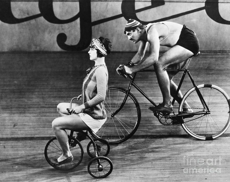 1920s Photograph - Silent Film Still by Granger