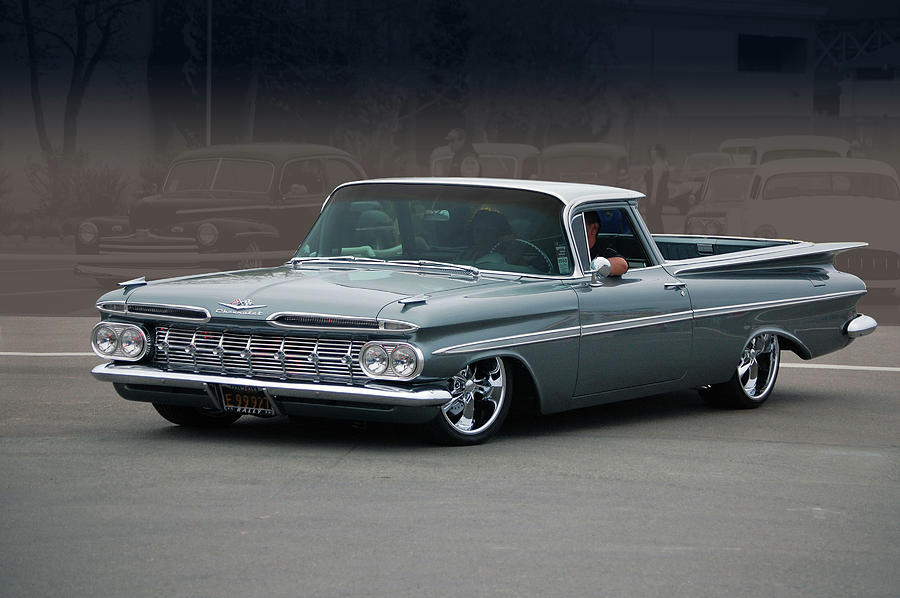 59 el camino rod photograph by bill dutting