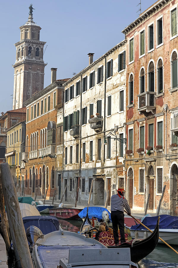 Dorsoduro Photograph - Venezia by Joana Kruse