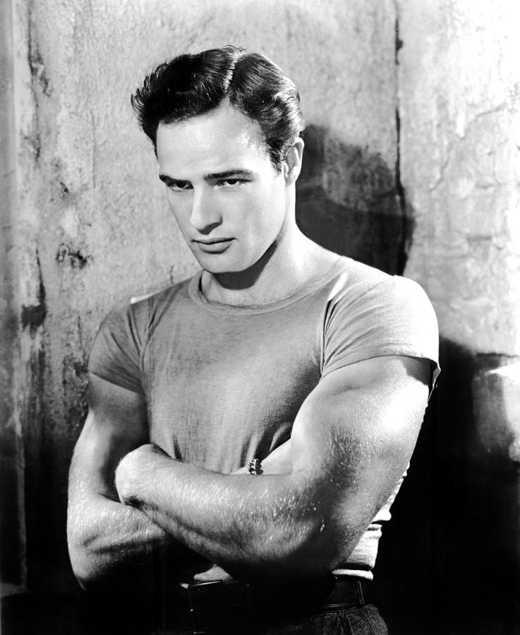 1950s Portraits Photograph - A Streetcar Named Desire, Marlon by Everett