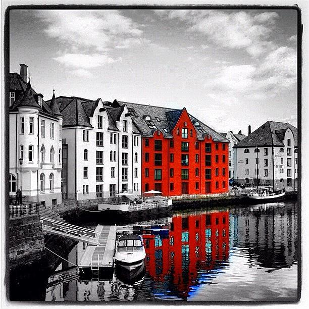 City Photograph - Alesund by Luisa Azzolini