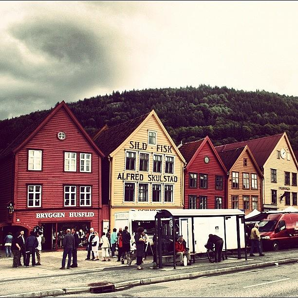 Beautiful Photograph - Bergen by Luisa Azzolini
