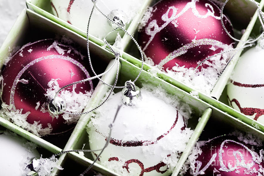 Christmas Ornaments Photograph