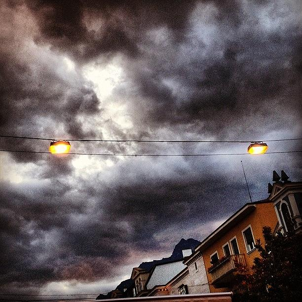 Scenery Photograph - Clouds by Luisa Azzolini