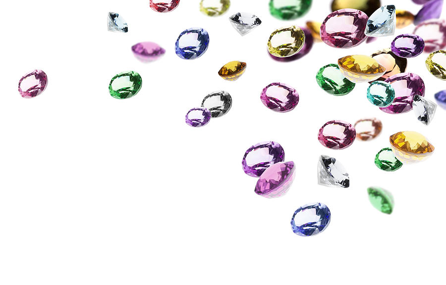 Colorful Gems Photograph By Setsiri Silapasuwanchai