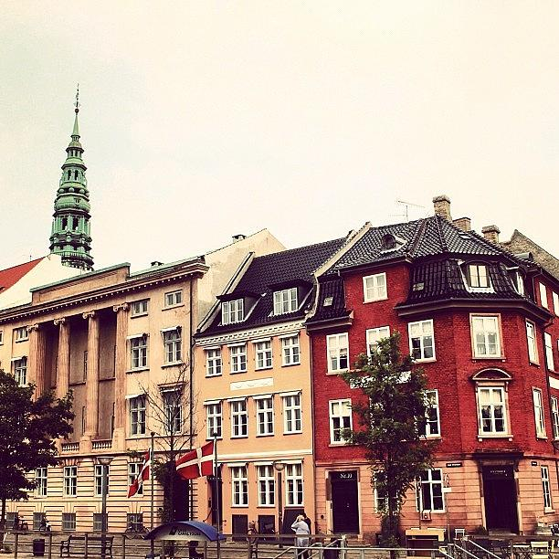 City Photograph - Copenhagen by Luisa Azzolini