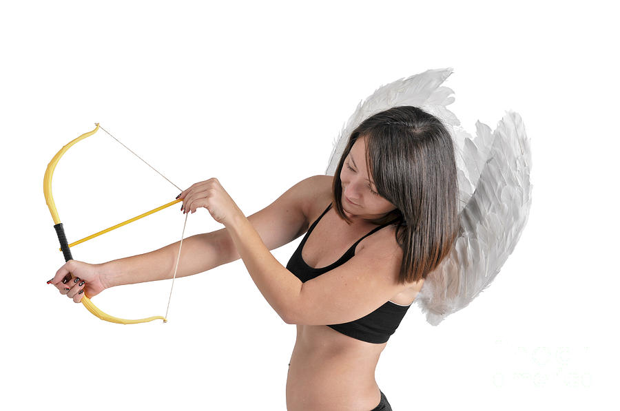 Enjoyment Photograph - Cupid The God Of Desire by Ilan Rosen