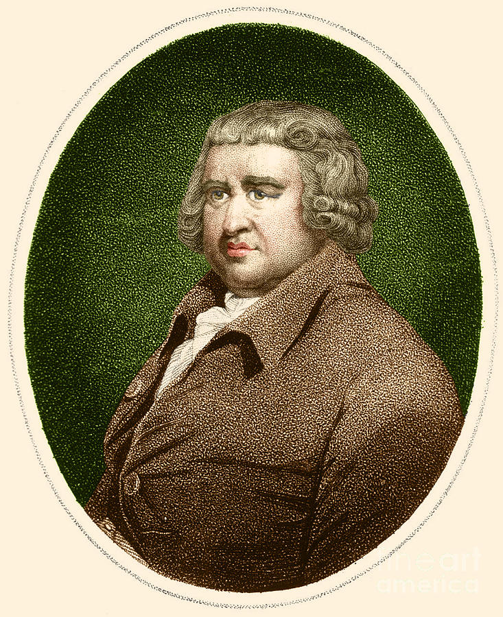 History Photograph - Erasmus Darwin, English Polymath by Science Source