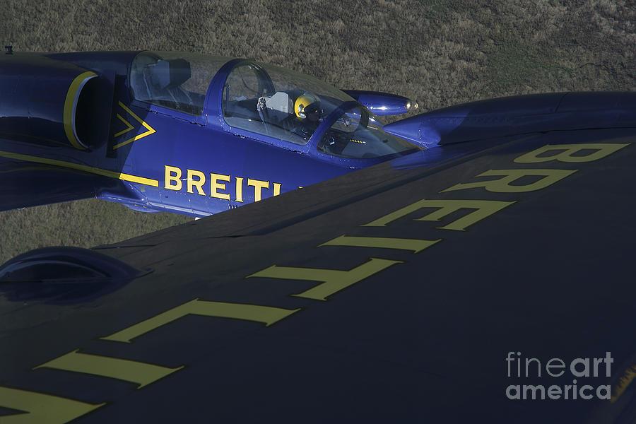 Transportation Photograph - Flying With The Aero L-39 Albatros by Daniel Karlsson