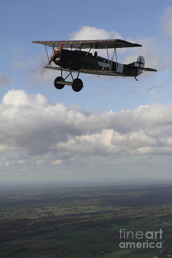 Fokker D.vii World War I Replica Photograph