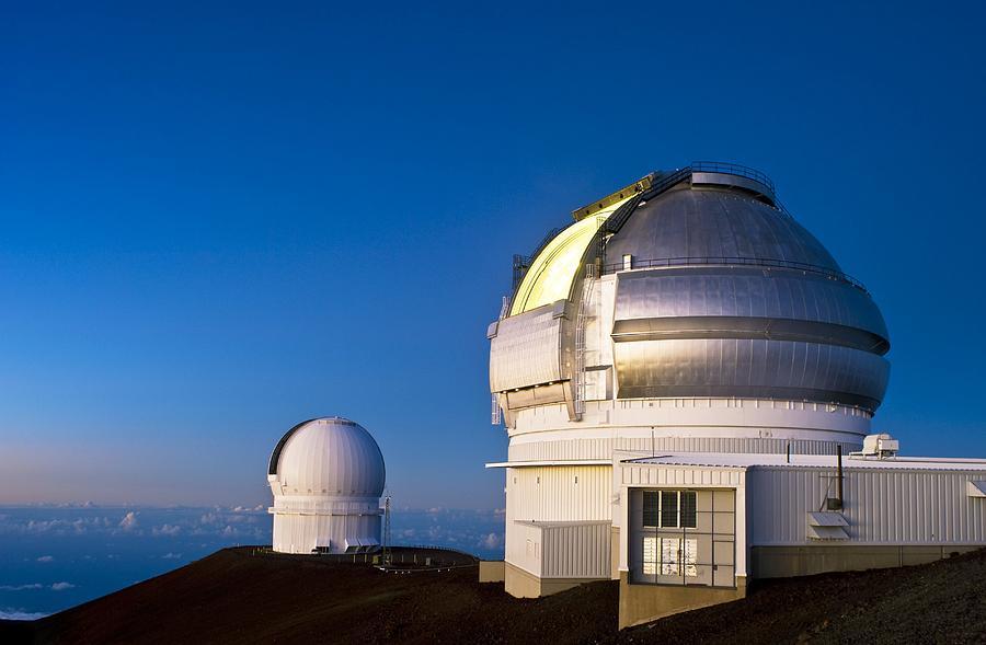Gemini North Photograph - Gemini North Telescope, Hawaii by David Nunuk