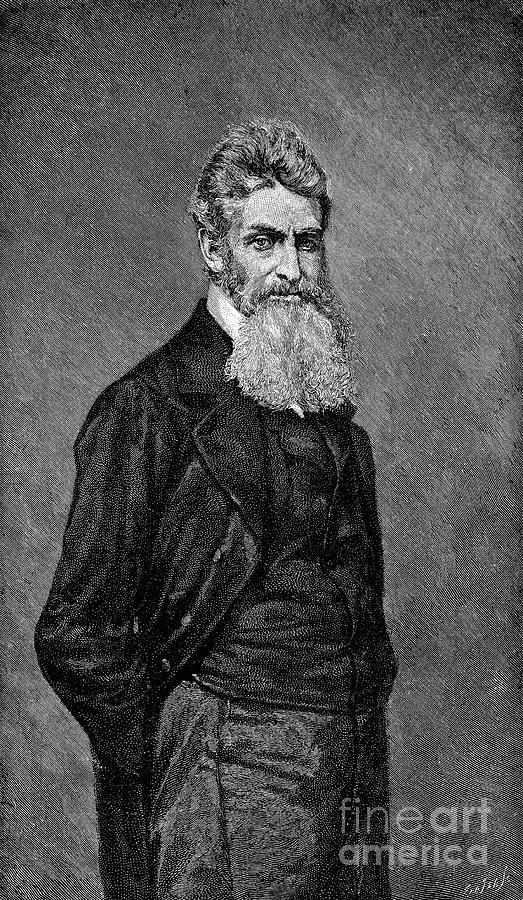 19th Century Photograph - John Brown (1800-1859) by Granger