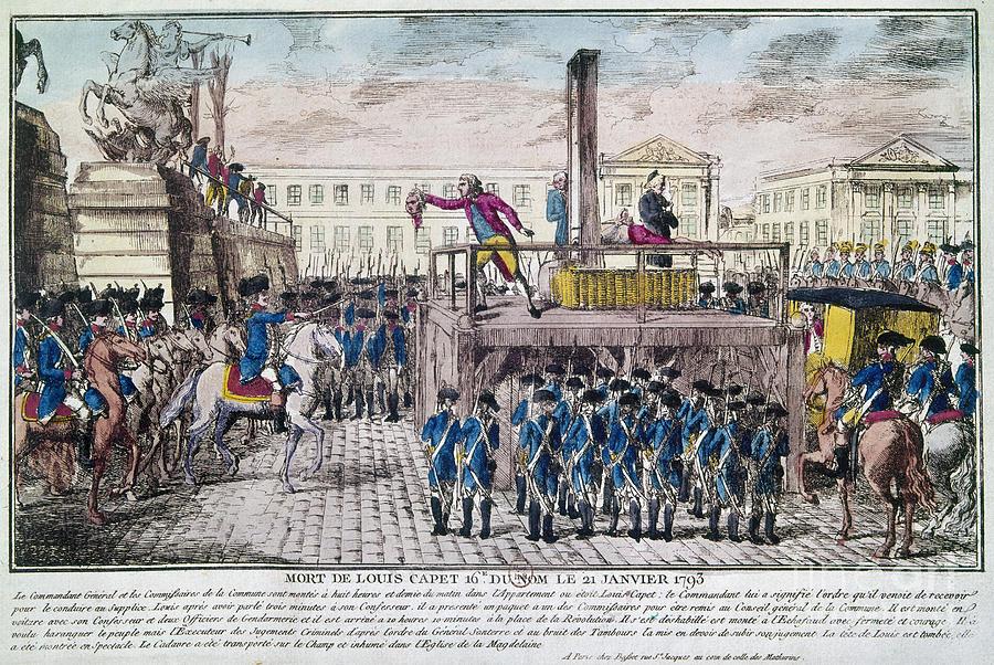 Louis Xvi (1754-1793) Photograph by Granger