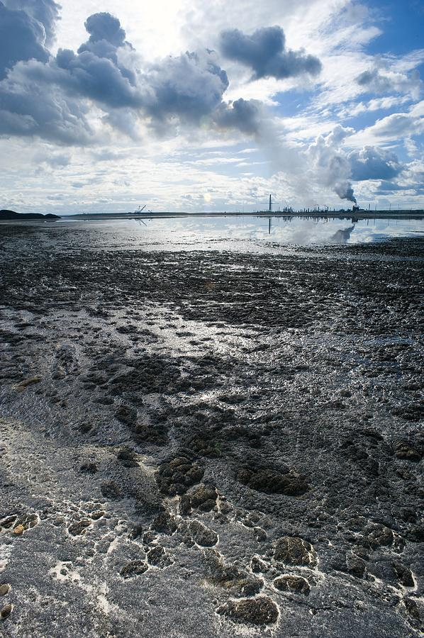 Pollution Photograph - Oil Industry Pollution by David Nunuk