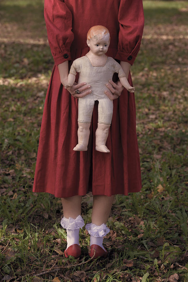 Woman Photograph - Old Doll by Joana Kruse