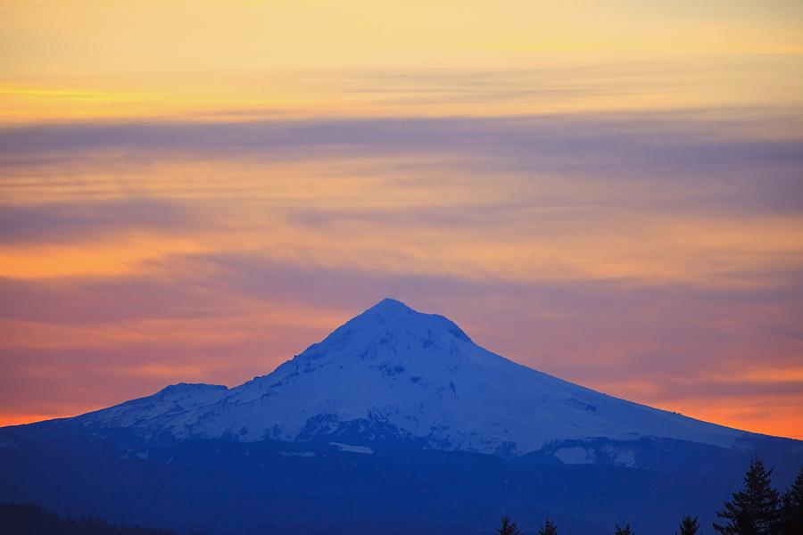 Mount Hood Photograph - Oregon, United States Of America by Craig Tuttle