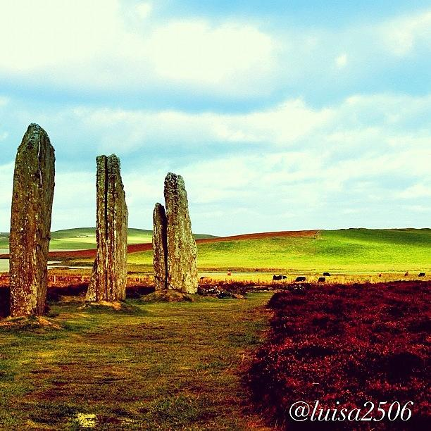 Scenery Photograph - Ring Of Brodgar 6 by Luisa Azzolini