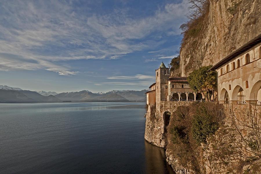 Tourism Photograph - Santa Catarina Del Sasso by Joana Kruse