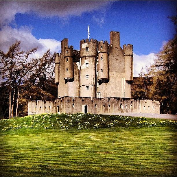 Beautiful Photograph - Scottish Castle by Luisa Azzolini