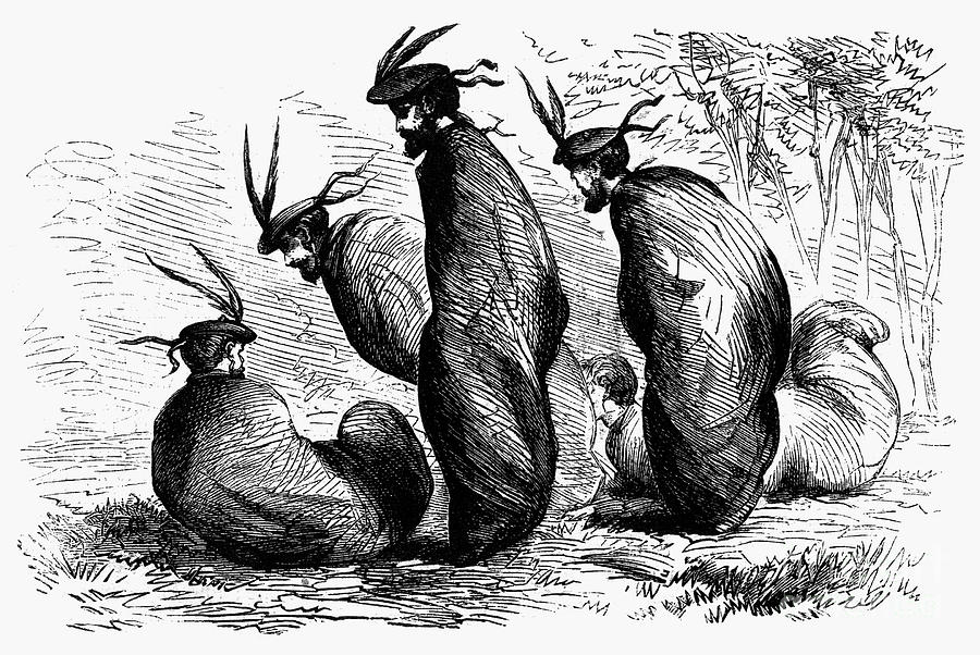 1867 Photograph - Scottish Games, 1867 by Granger