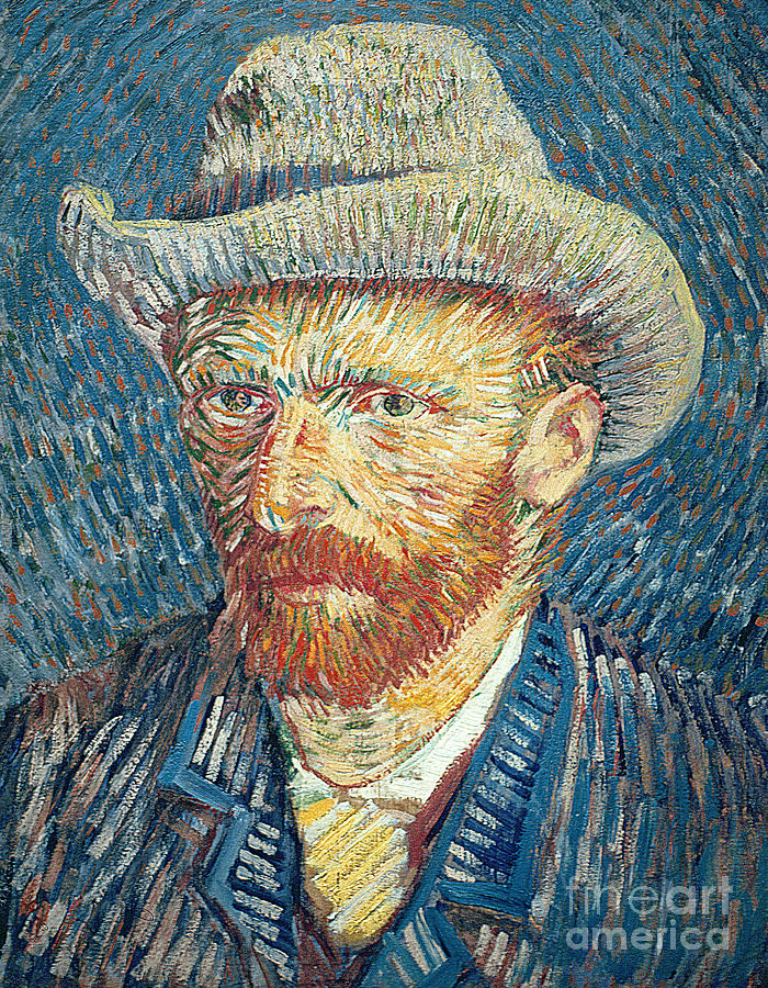 Vincent Van Gogh Painting - Self Portrait by Vincent Van Gogh