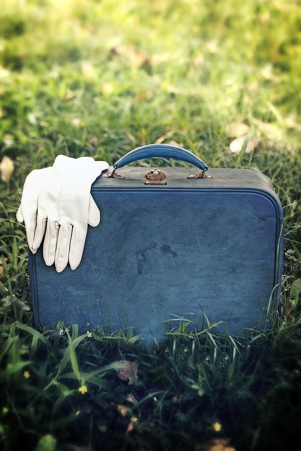 Leather Bag Photograph - Suitcase by Joana Kruse