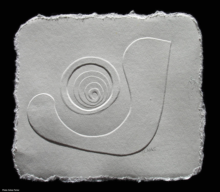 Untitled Relief by Suhas Tavkar