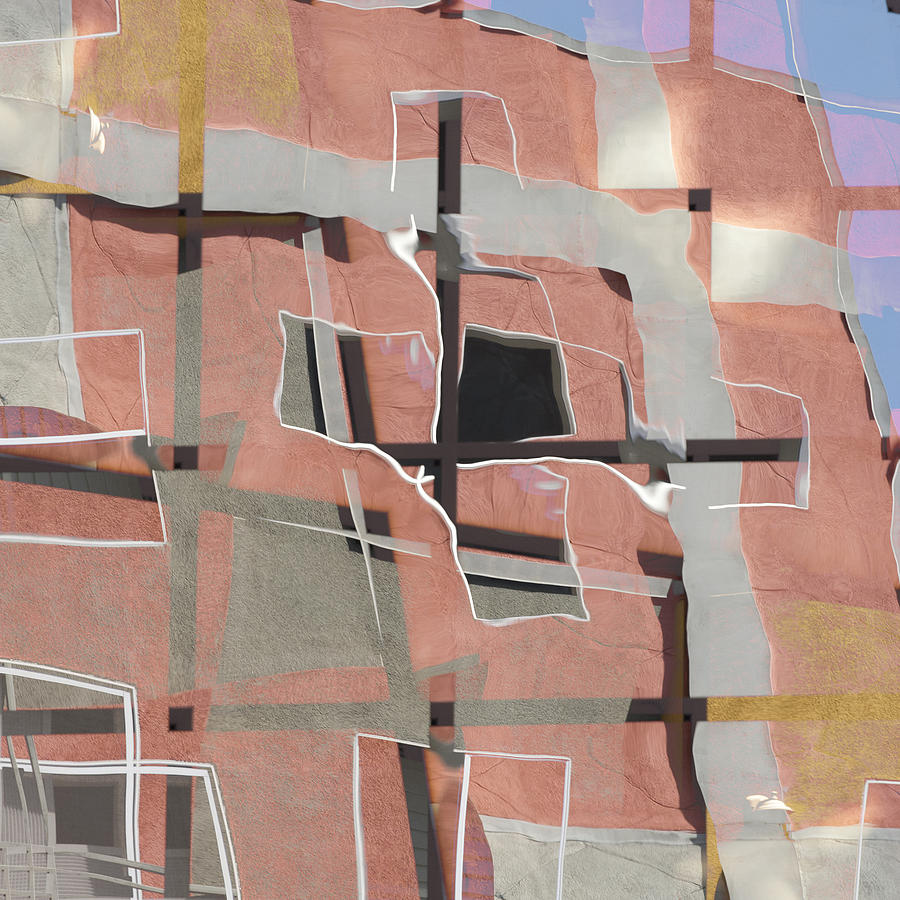 Urban Photograph - Urban Abstract San Diego by Carol Leigh