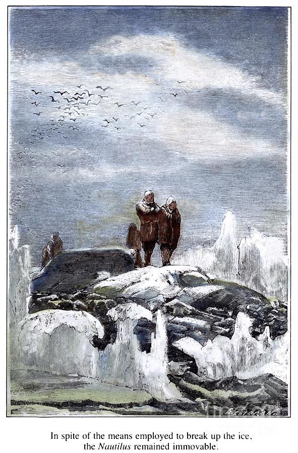 1870 Photograph - Verne: 20,000 Leagues by Granger
