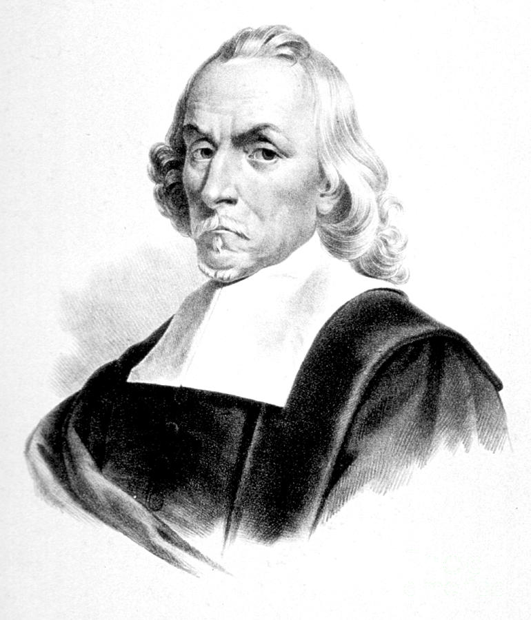 History Photograph - William Harvey, English Physician by Science Source