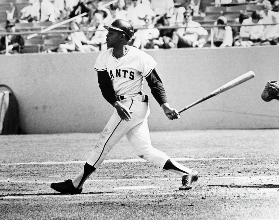 1969 Photograph - Willie Mays (1931- ) by Granger
