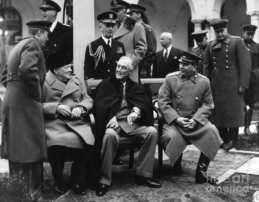 a report on the yalta conference of 1945 Differences between yalta and potsdam the conferences at yalta and potsdam  the conference at yalta took place from february 4-11, 1945 yalta is located on the .