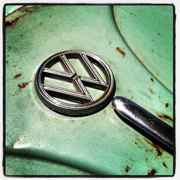 Volkswagon Photograph - 61 V W by Gwyn Newcombe