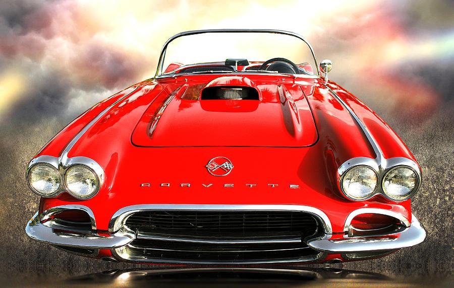 Corvette Photograph - 62 Vette by Stephen Warren